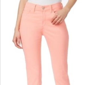 NYDJ Jeans - Not your daughters jeans Dayla Capris size 2 pink